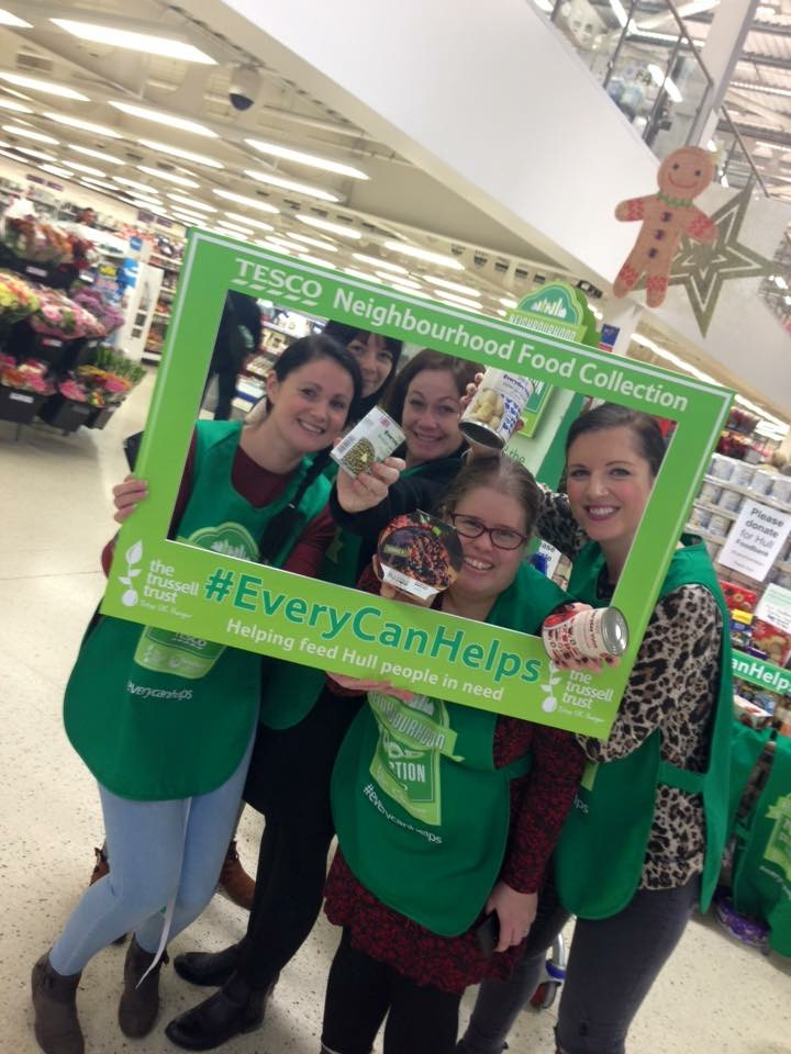 Volunteering Gives Colleagues In Hull A Christmas Glow