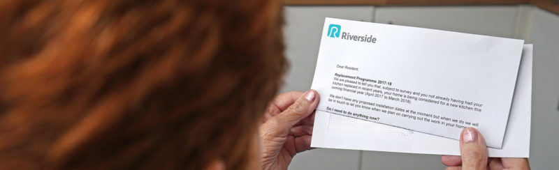 I have received a letter from Riverside