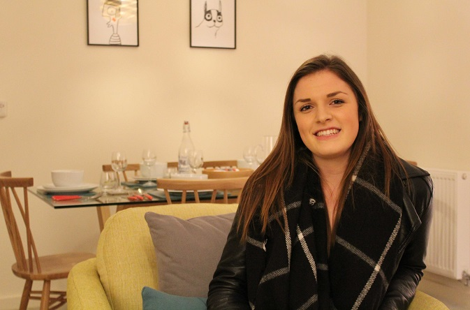 First time buyer Meghann has become a homeowner in Cheshire with the help of Riverside and shared ownership.